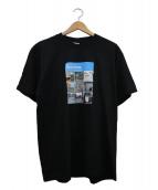 Supreme(シュプリーム)の古着「プリントTシャツ」|ブラック×ブルー