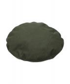 KIJIMA TAKAYUKI(キジマタカユキ)の古着「ベレー帽」|オリーブ