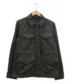 G-STAR RAW(ジースターロウ)の古着「ミリタリージャケット」|ダークグリーン
