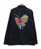 Supreme(シュプリーム)の古着「バック刺繍カバーオール」|ブラック×マルチカラー