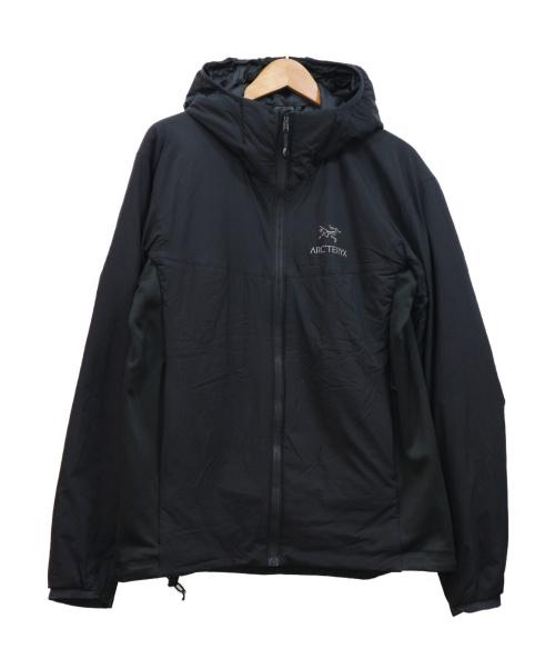 ARCTERYX(アークテリクス)ARCTERYX (アークテリクス) フーデッド中綿ジャケット ブラック サイズ:M 14644 ATOM LT HOODYの古着・服飾アイテム