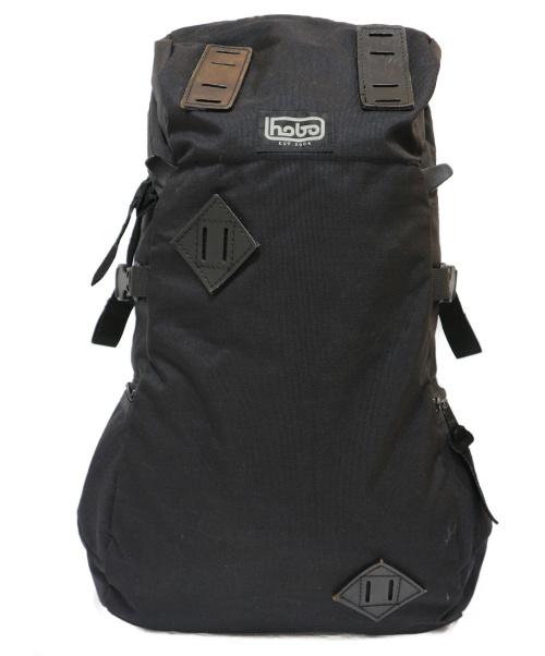 hobo(ホーボ)hobo (ホーボ) バックパック ブラック 日本製 CELSPUNR Nylon SLOPE 35L BACKPACKの古着・服飾アイテム