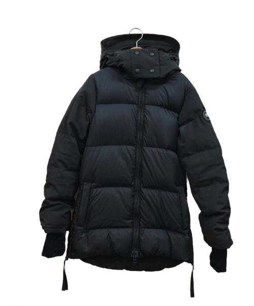 CANADA GOOSE(カナダグース)CANADA GOOSE (カナダグース) ダウンコート ブラック サイズ:XS 冬物 3204LB WhitehorseParka ブラッの古着・服飾アイテム