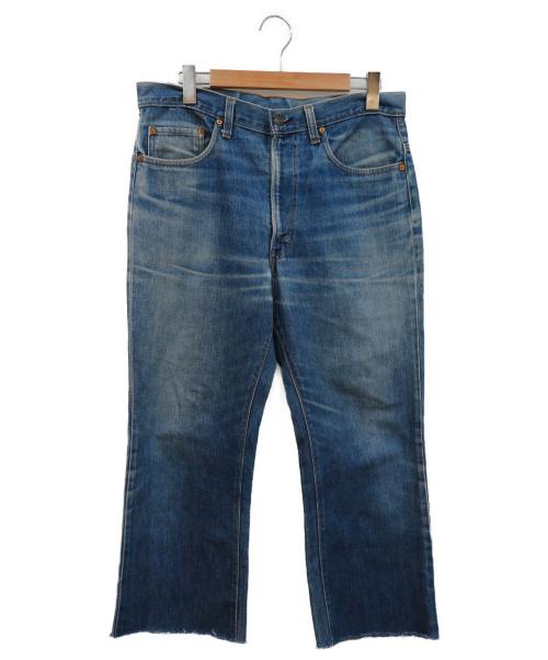 LEVIS(リーバイス)LEVIS (リーバイス) ヴィンテージデニムパンツ インディゴ サイズ:W34 517-0217 42TALON ボタン裏6 の古着・服飾アイテム