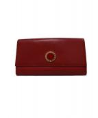 ()の古着「長財布」|レッド