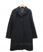 FENDI JEANS(フェンディ ジーンズ)の古着「ウールコート」|グレー