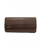 GUCCI(グッチ)の古着「長財布」|ブラウン