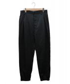 BED J.W. FORD(ベッドフォード)の古着「サテントラックパンツ」|ブラック