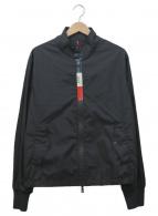 MONCLER(モンクレール)の古着「ナイロンジャケット」|ブラック×ホワイト