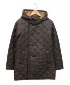 LAVENHAM(ラヴェンハム)の古着「キルティングコート」|ブラウン