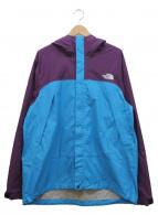 THE NORTH FACE(ザノースフェイス)の古着「ドットショットジャケット」|パープル×ブルー