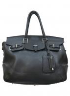 PELLE MORBIDA(ペッレモルビダ)の古着「2WAYボストントートバッグ」|ブラック