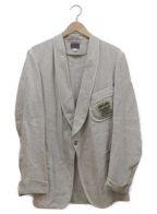 PHERROWS(フェローズ)の古着「スモーキングジャケット」|ベージュ