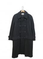 EN ROUTE(アンルート)の古着「ツイルダッフルコート」|ブラック