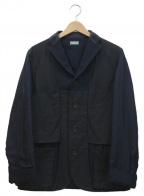 KOLOR(カラー)の古着「ウール切替デザインジャケット」|ネイビー×グレー