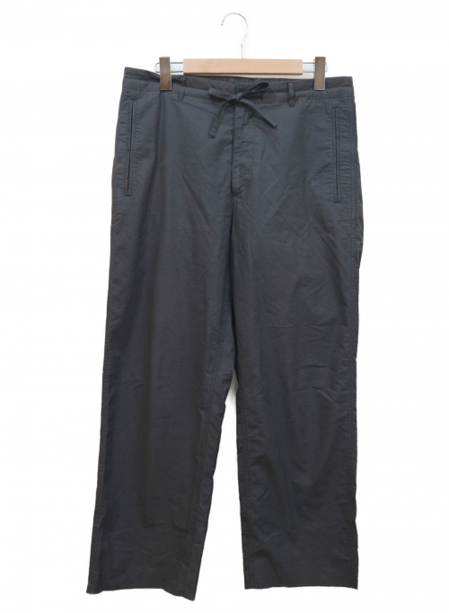 AURALEE(オーラリー)AURALEE (オーラリー) セルビッチウェザークロスイージーパンツ ネイビー サイズ:4 17SS SELVEDGE WEATHER CLOTH A7SP03WCの古着・服飾アイテム