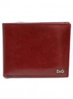 D&G(ディーアンドジー)の古着「2つ折り財布」|レッド