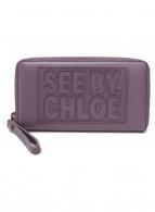 SEE BY CHLOE(シーバイクロエ)の古着「長財布」|パープル