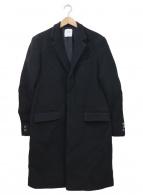 UNITED TOKYO(ユナイテッドトウキョウ)の古着「ビーバーチェスターコート」|ブラック