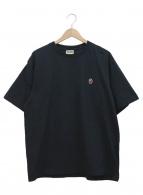 A BATHING APE(アベイシングエイプ)の古着「ワンポイントTシャツ」|ブラック