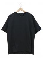 A BATHING APE(アベイシングエイプ)の古着「バックロゴプリントTシャツ」|ブラック