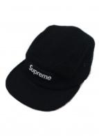 Supreme×HARRIS TWEED(シュプリーム×ハリスツイード)の古着「コラボウール5パネルキャップ」 ブラック