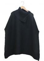me ISSEY MIYAKE(ミーイッセイミヤケ)の古着「タートルネックブラウス」|ブラック
