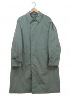 UNITED ARROWS(ユナイテッドアローズ)の古着「バルカラーコート」 グリーン