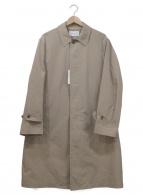 UNITED ARROWS(ユナイテッドアローズ)の古着「ポリエステルナイロンバルカラーコート」 ベージュ