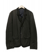 UNDERCOVERISM(アンダーカバイズム)の古着「テーラードジャケット」 ブラウン