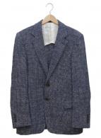 TOMORROW LAND PILGRIM(トゥモローランドピルグリム)の古着「テーラードジャケット」|ネイビー