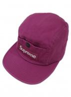 Supreme(シュプリーム)の古着「スナップボタン5パネルキャップ」|パープル