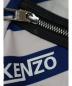 中古・古着 KENZO (ケンゾー) デイパック ホワイト×ブルー STRIPED NYLON BACKPACK F855SF213F28 SU1107:4800円