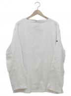 SAINT JAMES(セントジェームス)の古着「ボートネックカットソー」 ホワイト