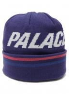 PALACE(パレス)の古着「ニット帽」 パープル