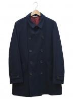 Paul Smith COLLECTION(ポールスミスコレクション)の古着「メルトンコート」|ネイビー