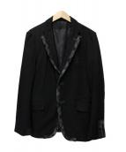 COMME des GARCONS HOMME(コムデギャルソン・オム)の古着「テーラードジャケット」|ブラック