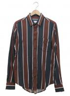 AMI Alexandre Mattiussi(アミ アレクサンドル マテュッシ)の古着「ラージクラシックシャツ」|ブラウン