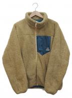 CHUMS(チャムス)の古着「ボンディングフリースジャケット」|ベージュ