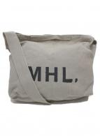 MHL(エムエイチエル)の古着「2WAYキャンバスショルダーバッグ」|グレー