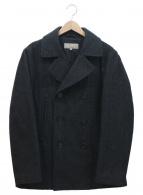 MARGARET HOWELL(マーガレットハウエル)の古着「Pコート」 グレー