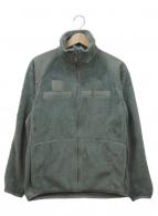 US ARMY(ユーエスアーミー)の古着「フリースジャケット」 カーキ