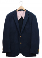 BROOKS BROTHERS Red Fleece(ブルックスブラザーズレッドフリース)の古着「2B金釦テーラードジャケット」|ネイビー
