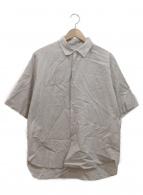 STILL BY HAND(スティルバイハンド)の古着「半袖シャツ」|ベージュ