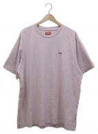 Supreme(シュプリーム)の古着「スモールボックスロゴTシャツ」|ピンク×レッド
