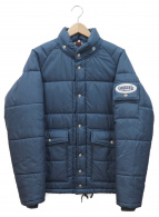 TENDERLOIN(テンダーロイン)の古着「スリーブワッペン中綿ジャケット」|ブルー