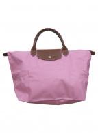 LONGCHAMP(ロンシャン)の古着「ハンドバッグ」 ピンク