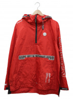 AAPE BY A BATHING APE(エーエイプバイアベイシングエイプ)の古着「アノラックパーカー」|レッド