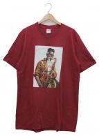 Supreme(シュプリーム)の古着「プリントTシャツ」|ボルドー×ホワイト