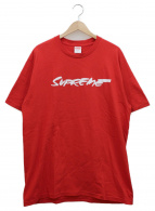 Supreme(シュプリーム)の古着「ロゴプリントTシャツ」|レッド×ホワイト